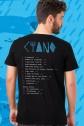 Camiseta Masculina Fresno Ciano 15 Anos - Minha Música