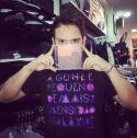 Camiseta Masculina Fresno Galáxias Preta