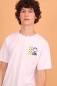Camiseta Masculina Fresno Logo Quadriculado