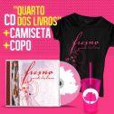 Combo Fresno CD Quarto dos Livros + Camiseta Feminina + Copo