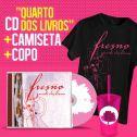 Combo Fresno CD Quarto dos Livros + Camiseta Masculina + Copo