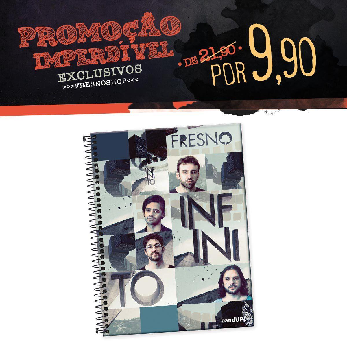 Caderno Fresno - Mosaico Infinito