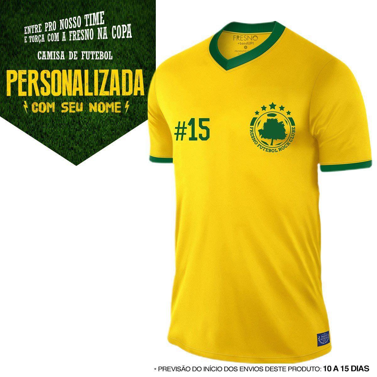 Camisa Fresno - Futebol Rock Clube