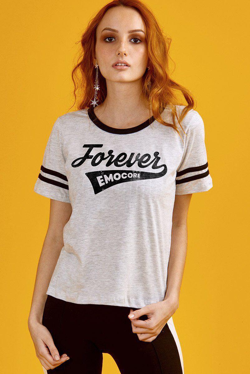 Camiseta Athletic Feminina Fresno Forever Emocore