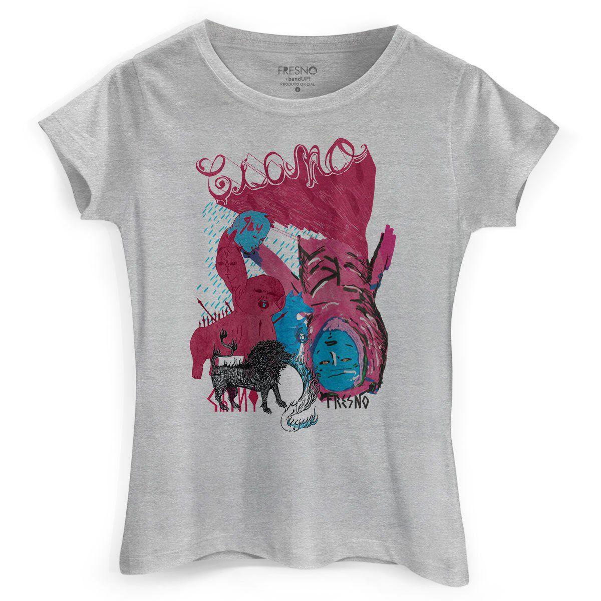 Camiseta Feminina Fresno Ciano Enxergar