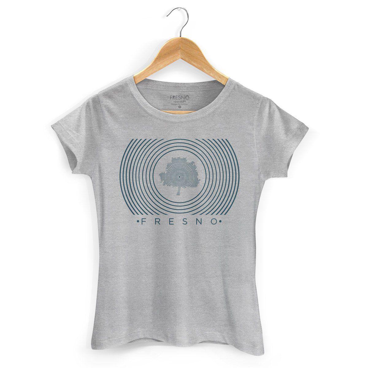 Camiseta Feminina Fresno Círculos