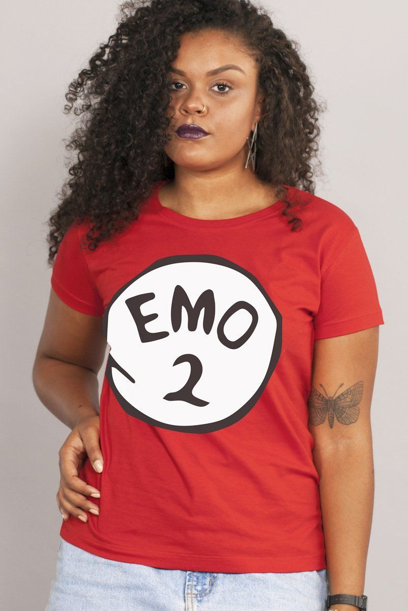 Camiseta Feminina Fresno Emo 2