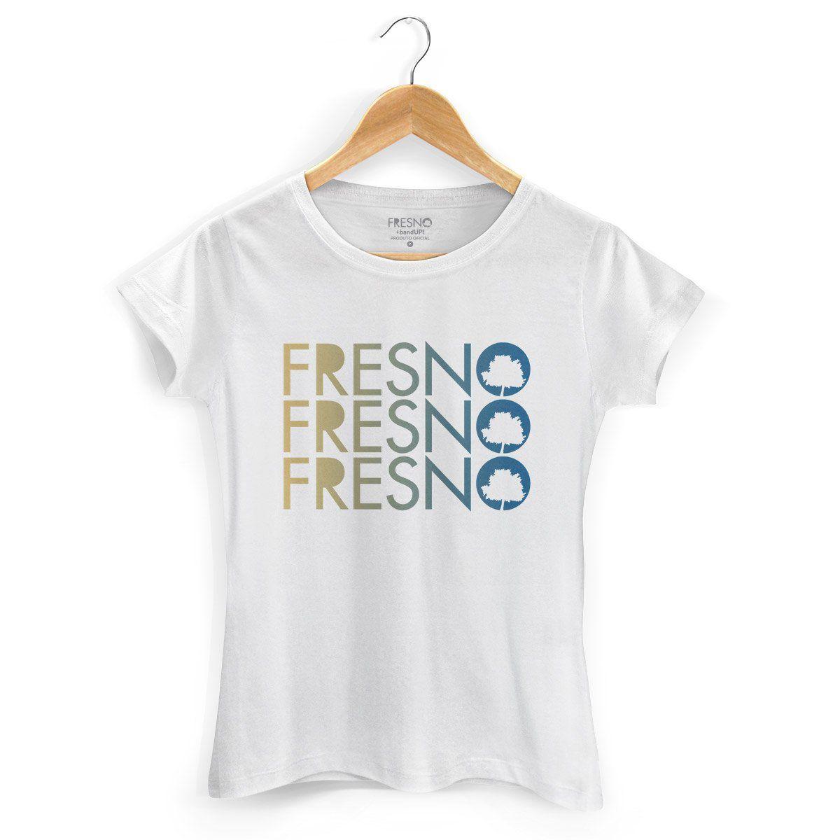 Camiseta Feminina Fresno - Logo