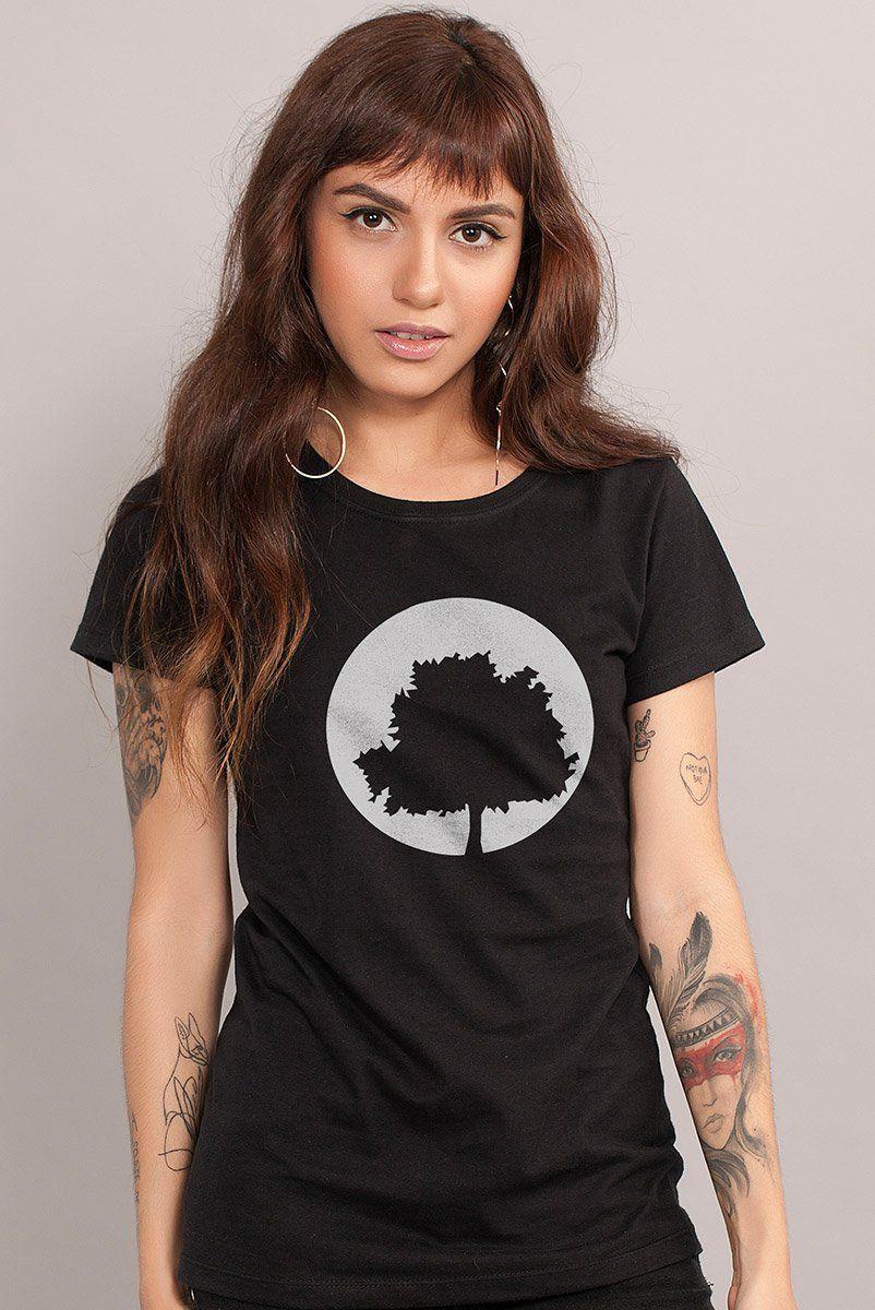 Camiseta Feminina Fresno Logo Árvore