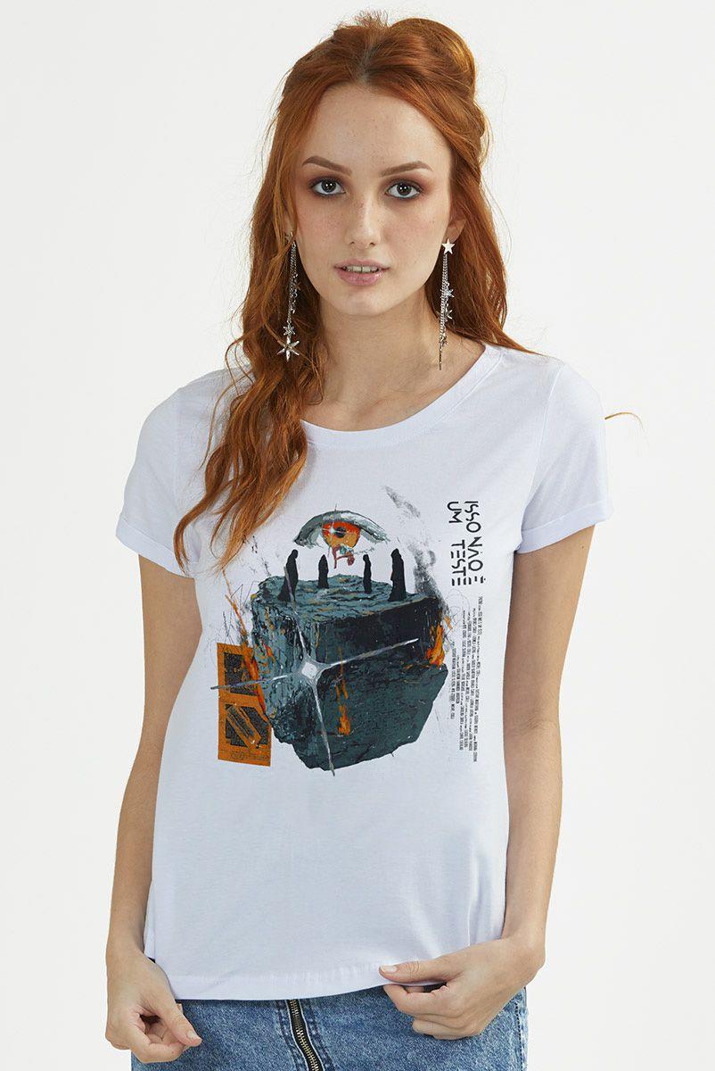 Camiseta Feminina Fresno Mais Estranho que a Ficção