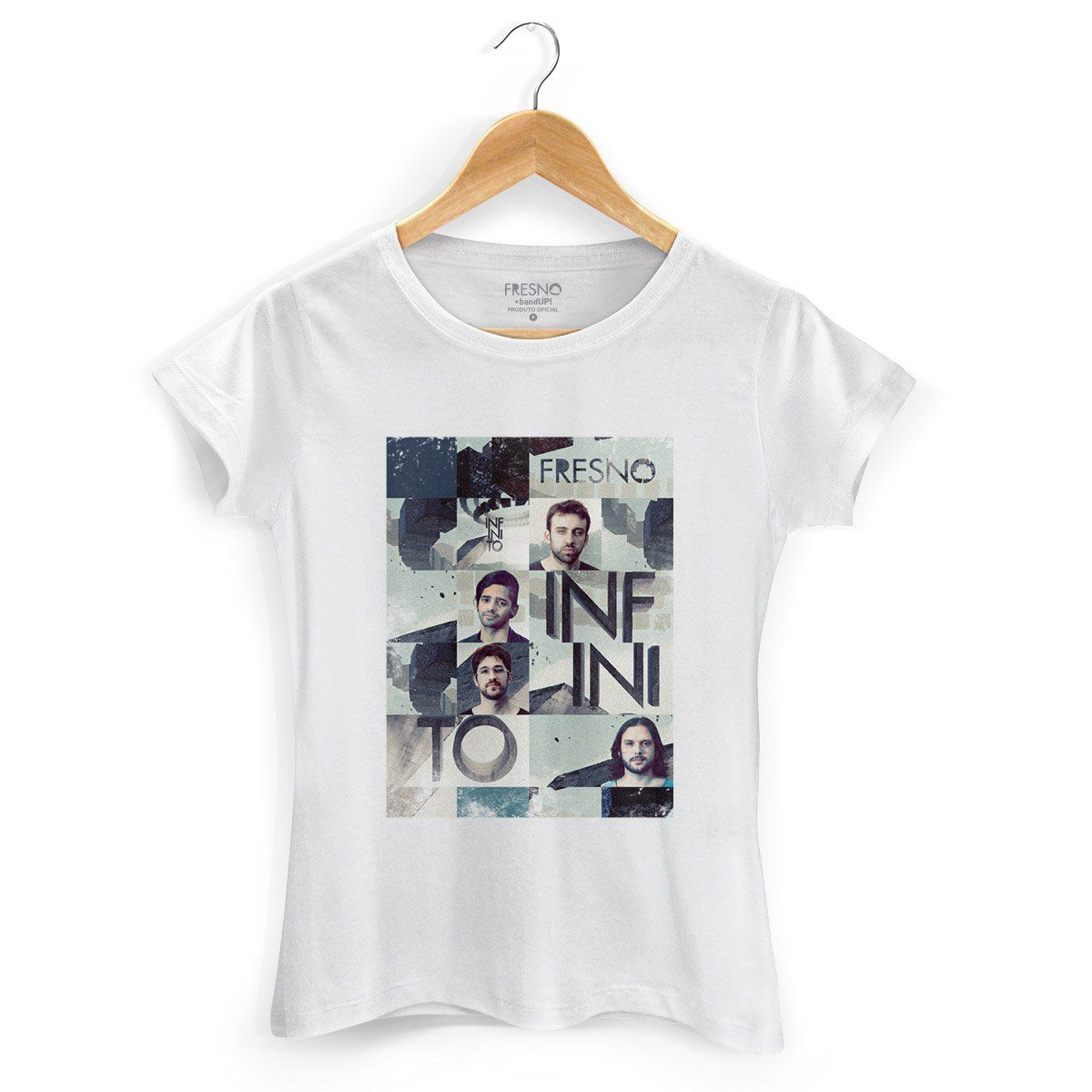 Camiseta Feminina Fresno - Mosaico Infinito