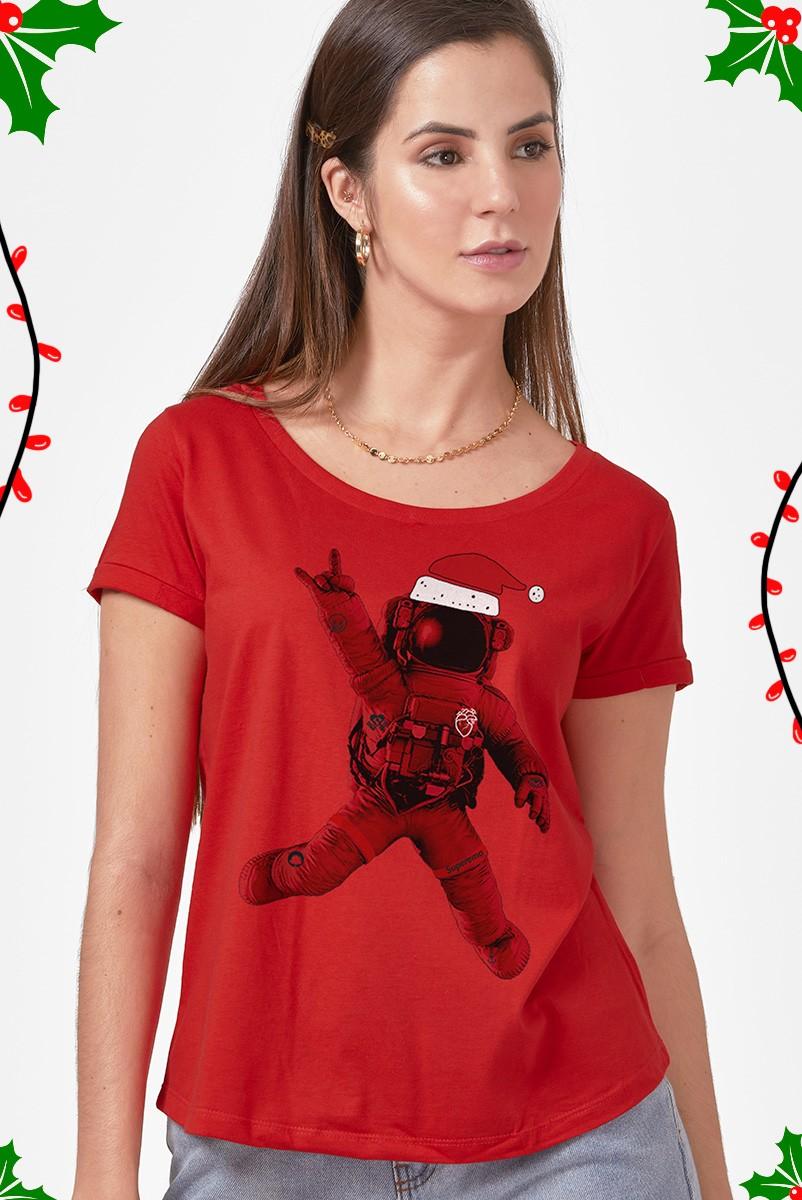 Camiseta Feminina Fresno Natal Emo