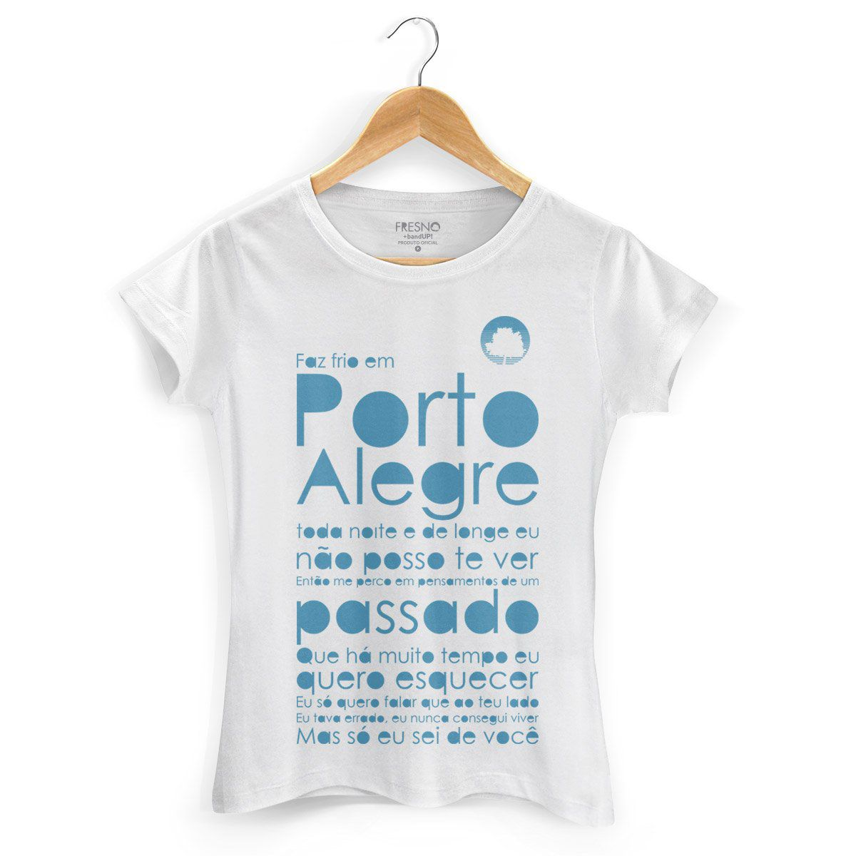 Camiseta Feminina Fresno Porto Alegre