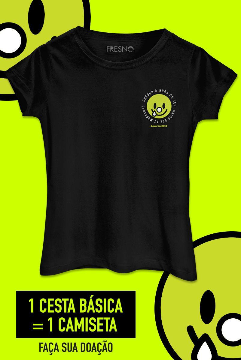 Camiseta Feminina Fresno QuarentEMO