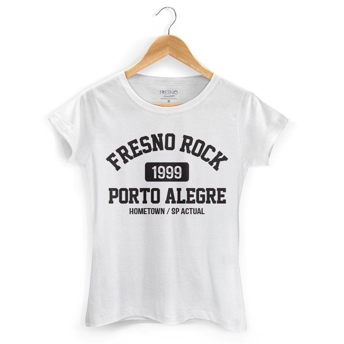 Camiseta Feminina Fresno Rock White