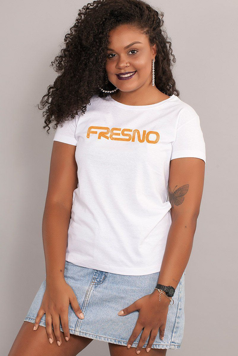 Camiseta Feminina Fresno Space Program Type
