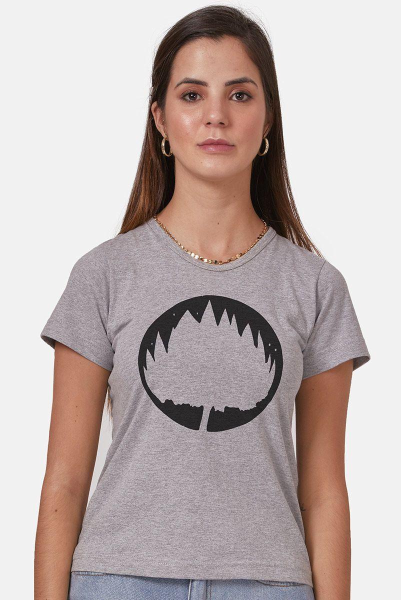 Camiseta Feminina Fresno Sua Alegria Foi Cancelada Logo