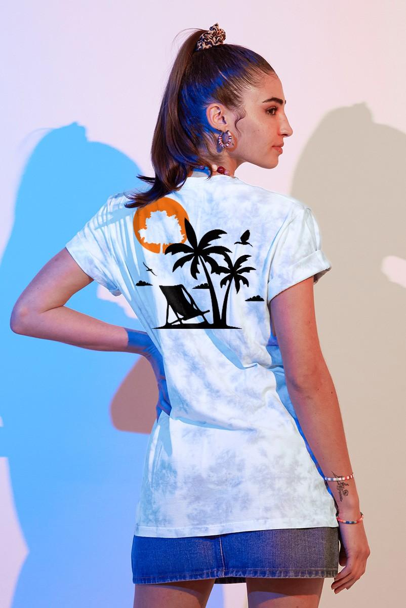Camiseta Feminina Fresno Verão Logo Árvores