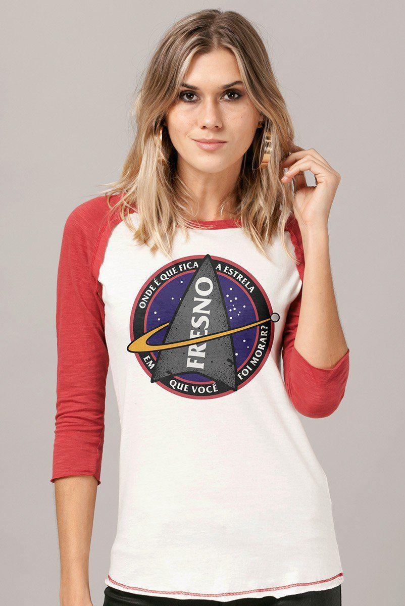 Camiseta Manga Longa Feminina Fresno Discovery