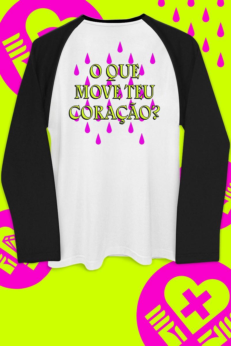 Camiseta Manga Longa Fresno O que Move o teu Coração?