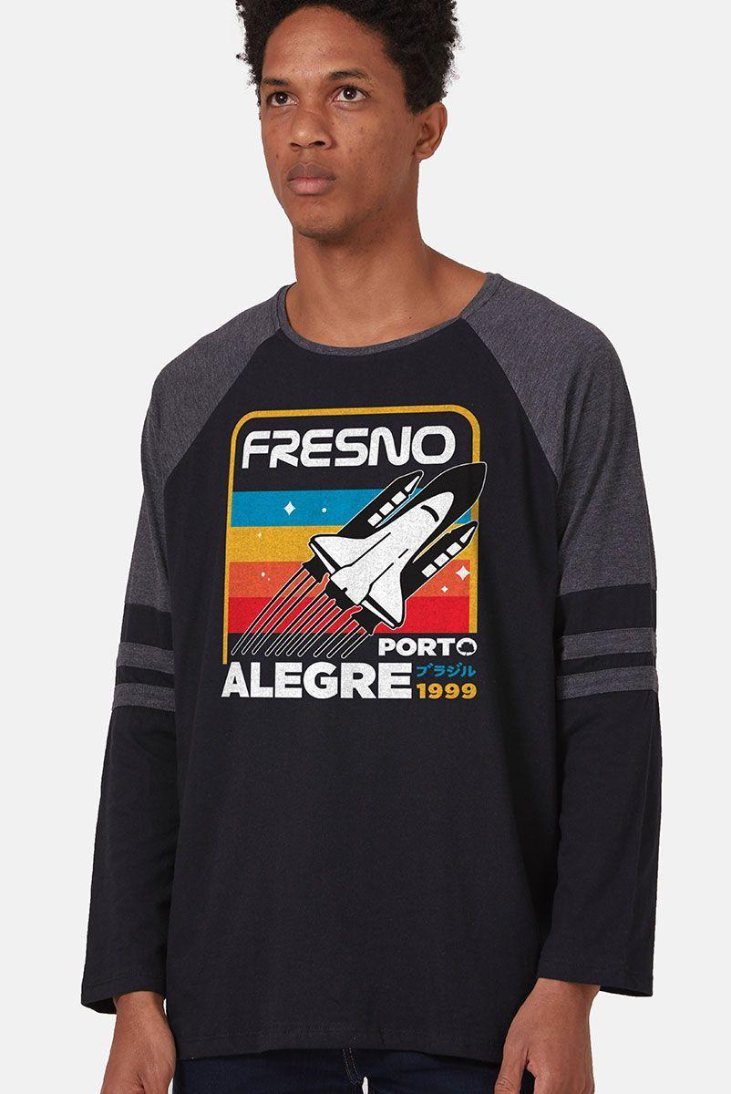 Camiseta Manga Longa Masculina Fresno Mission