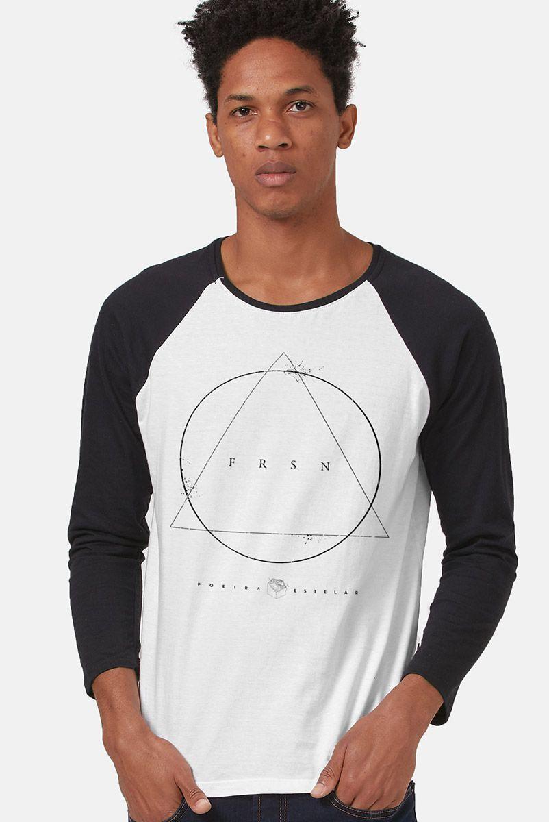 Camiseta Manga Longa Masculina Fresno Poeira Estelar
