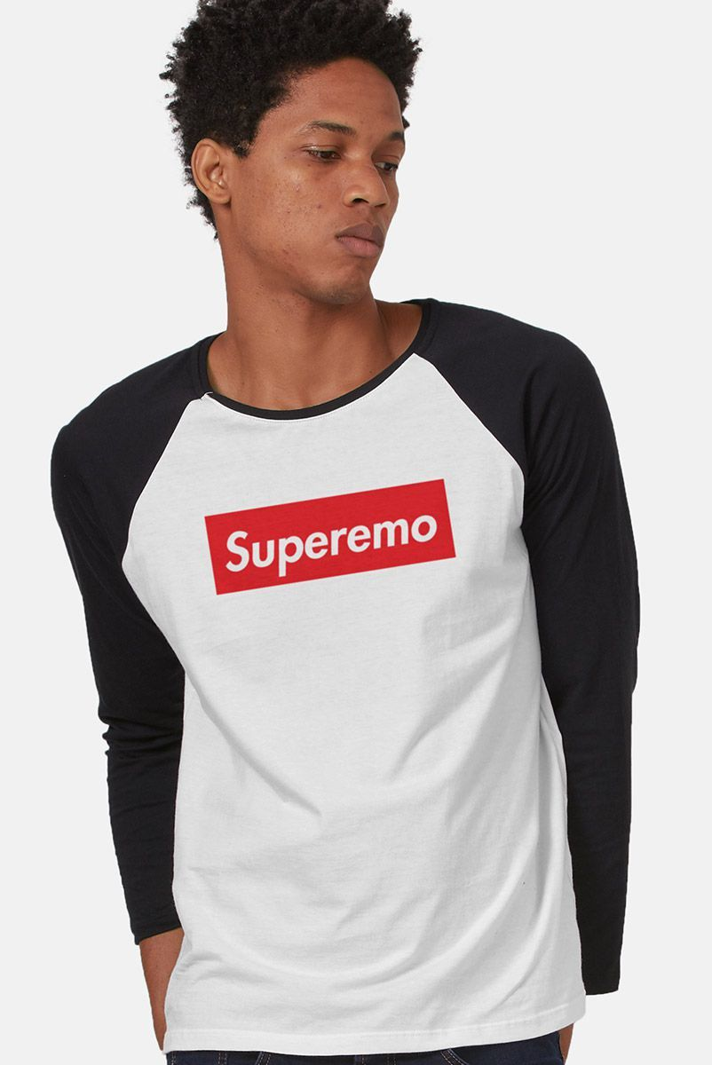 Camiseta Manga Longa Masculina Fresno Superemo