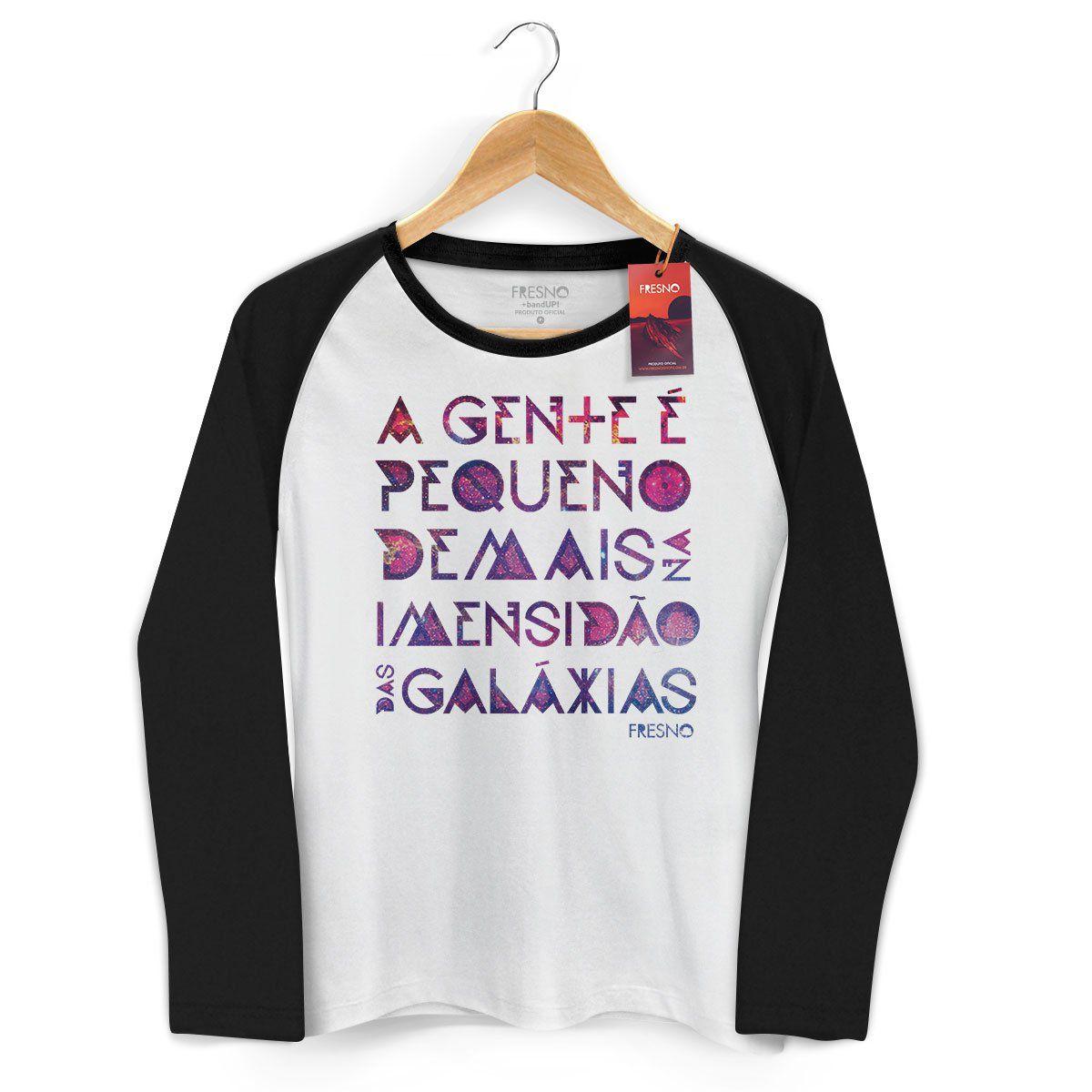 Camiseta Manga Longa Raglan Feminina Fresno Galáxias