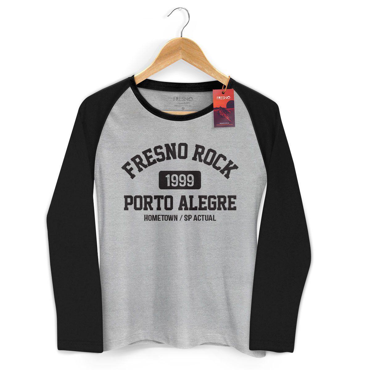 Camiseta Manga Longa Raglan Feminina Fresno Rock 4