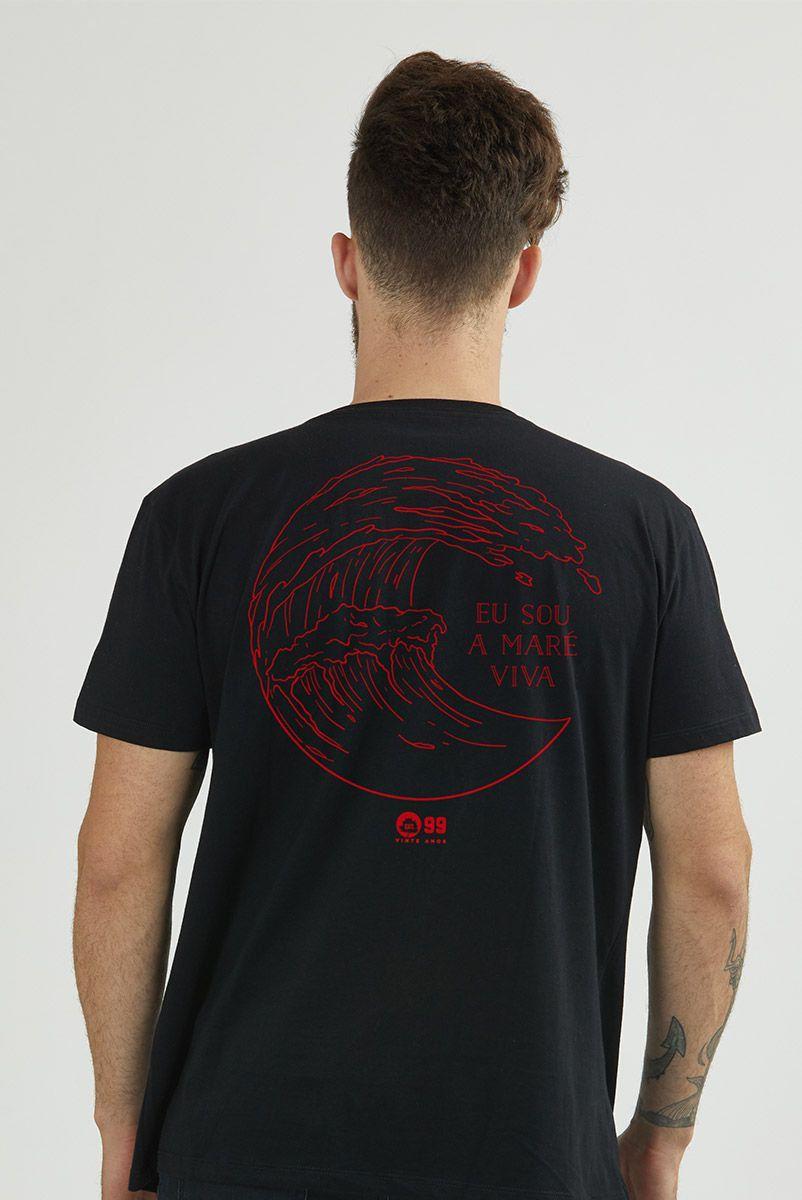 Camiseta Masculina Fresno 20 Anos Maré