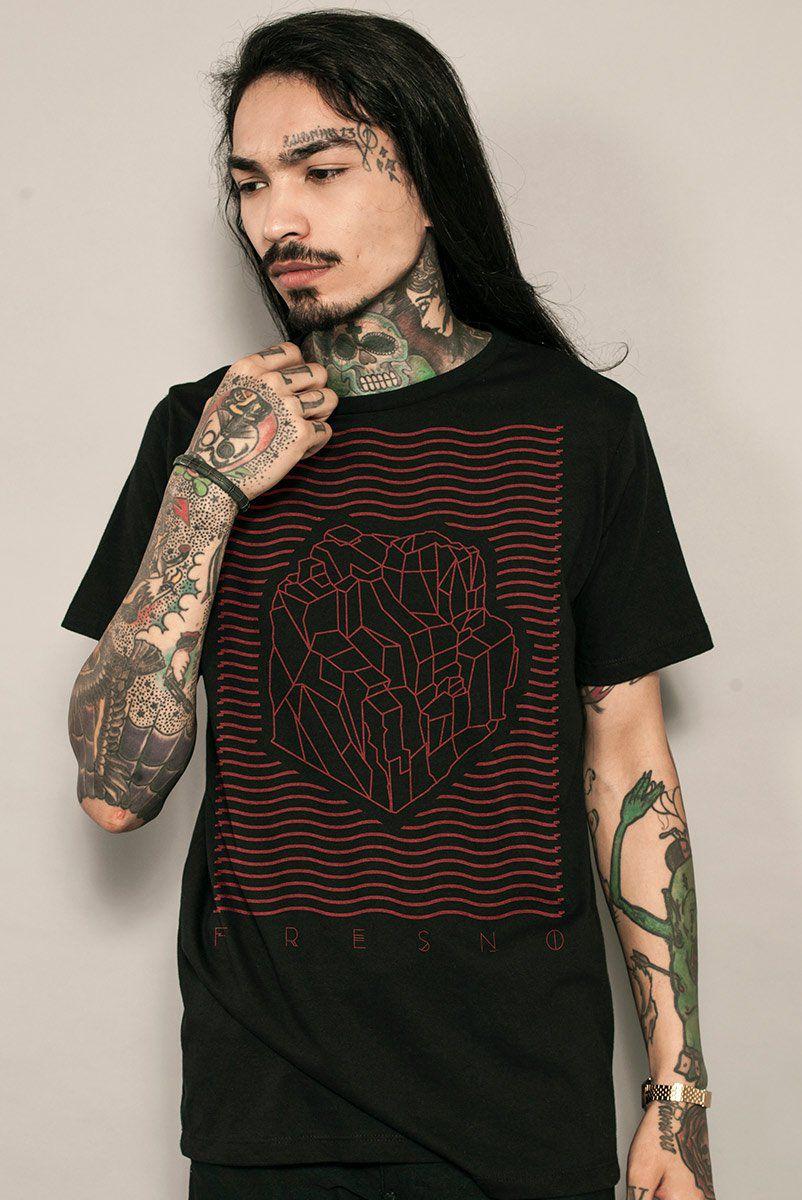 Camiseta Masculina Fresno A Sinfonia de Tudo Que Há