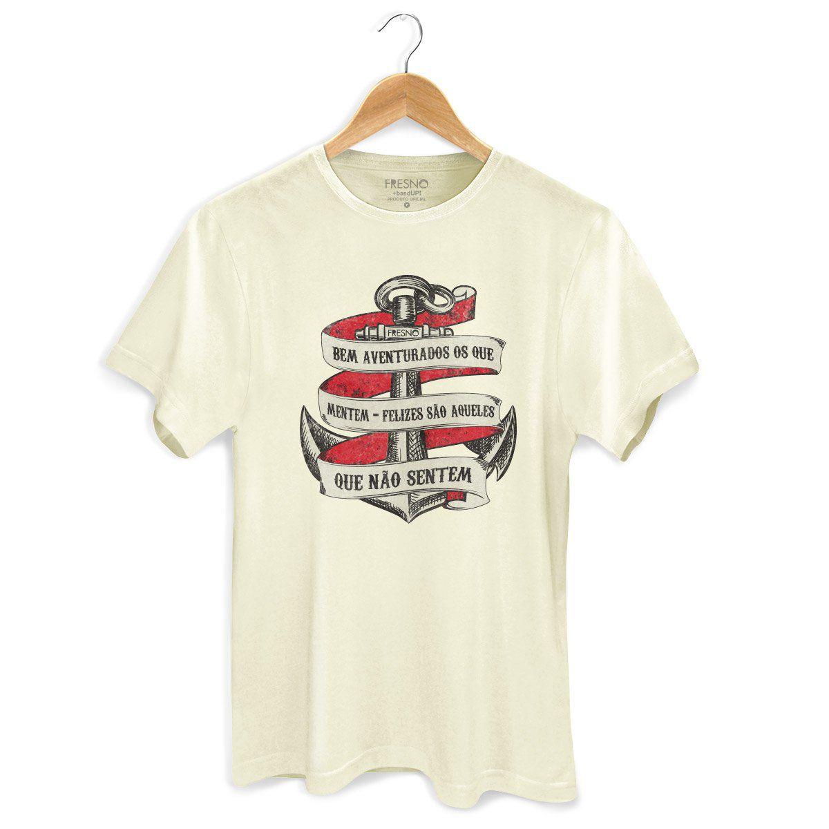 Camiseta Masculina Fresno Bem Aventurados os Que Mentem