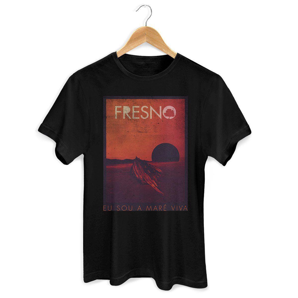 Camiseta Masculina Fresno - Capa Black