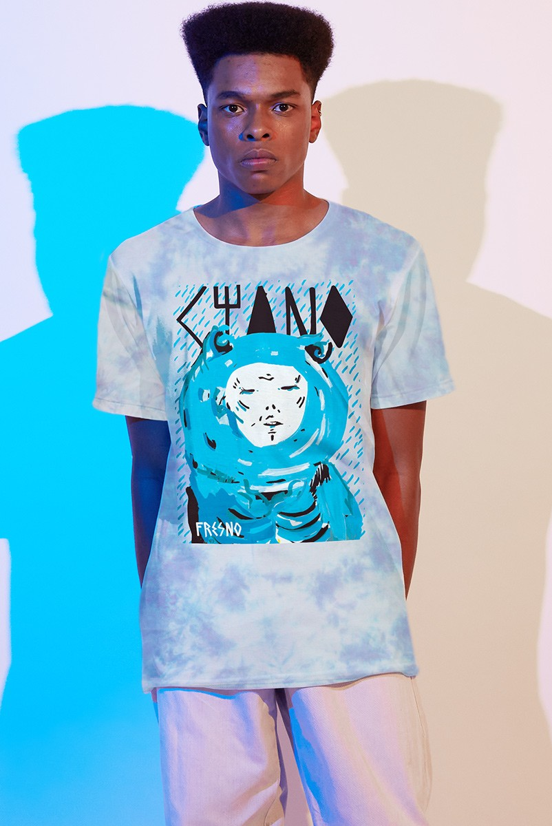 Camiseta Masculina Fresno Ciano