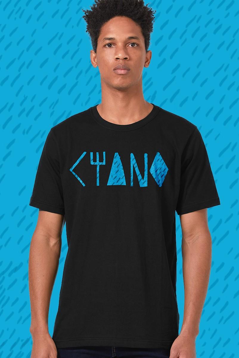 Camiseta Masculina Fresno Ciano Logo
