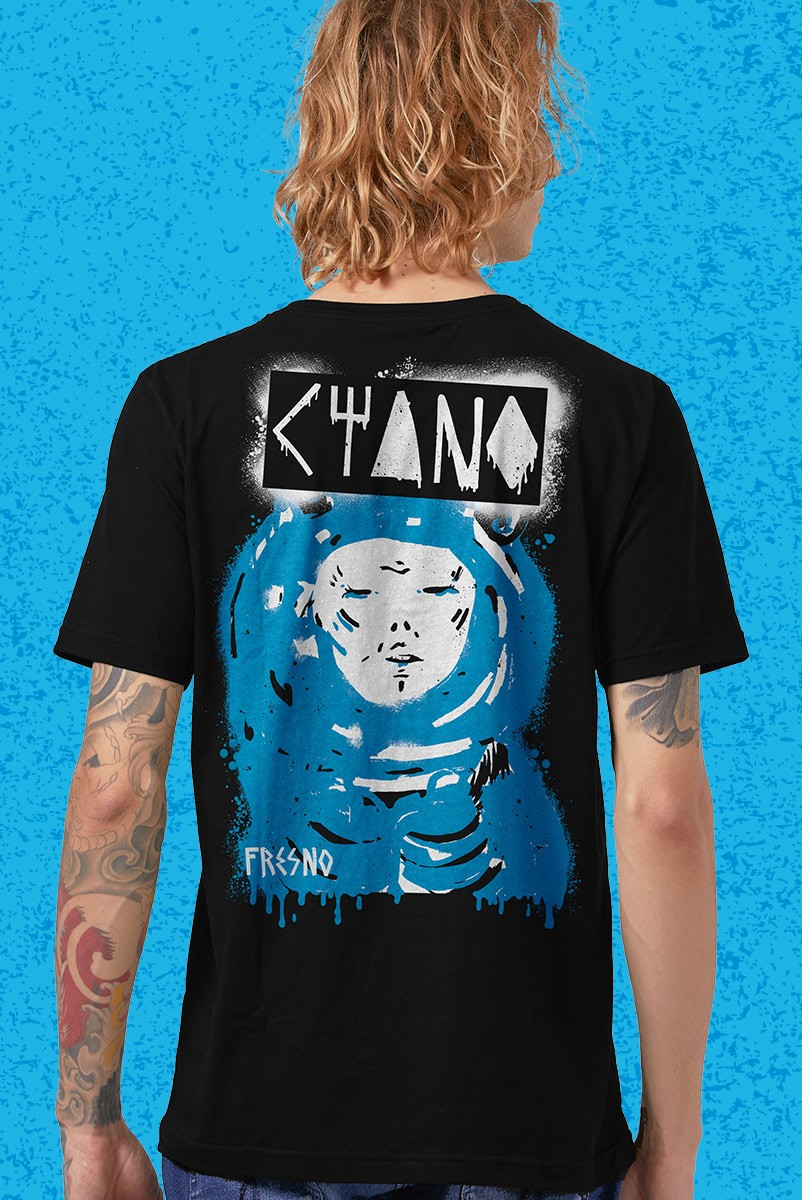 Camiseta Masculina Fresno Ciano Logo Arvore