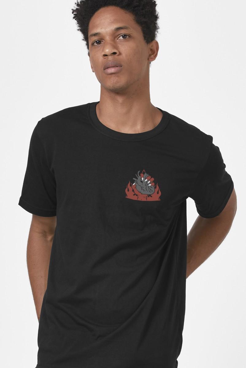 Camiseta Masculina Fresno Deixa Queimar