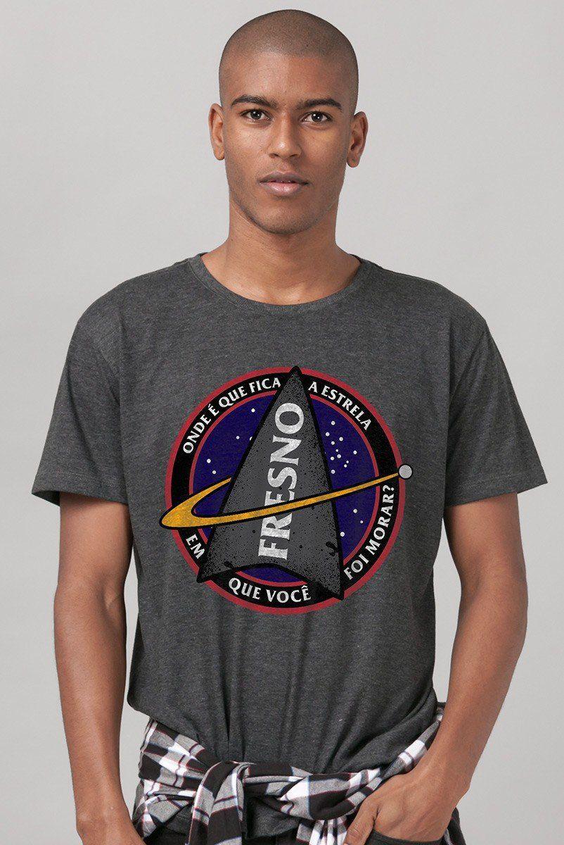 T-shirt Premium Camiseta Masculina Fresno Discovery