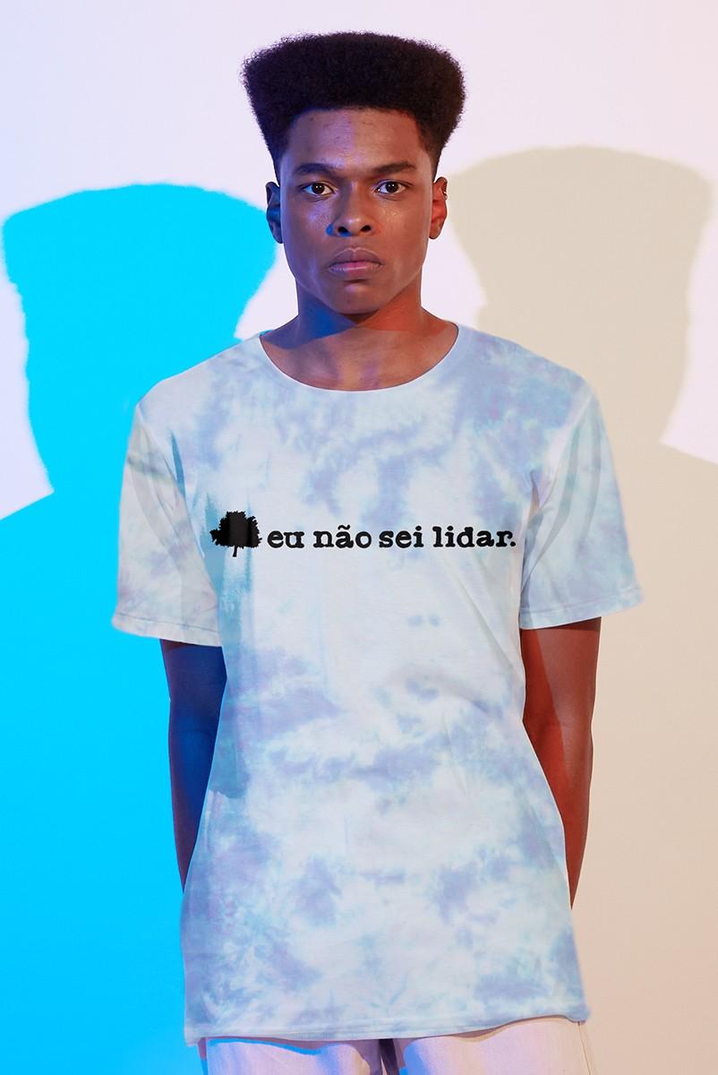 Camiseta Masculina Fresno Eu Não Sei Lidar