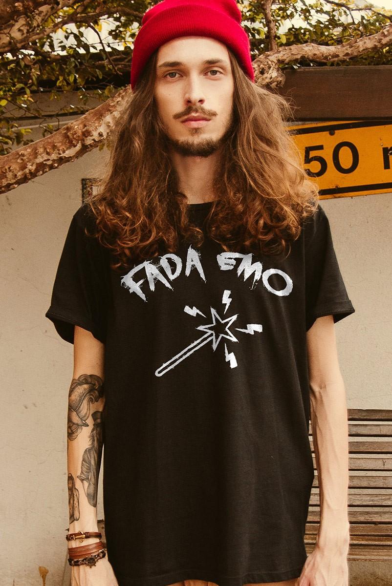 Camiseta Masculina Fresno Fada Emo