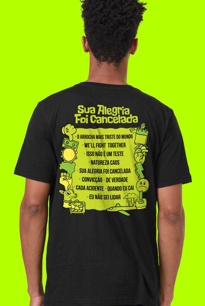 Camiseta Masculina Fresno Festival de Música Sua Alegria foi Cancelada