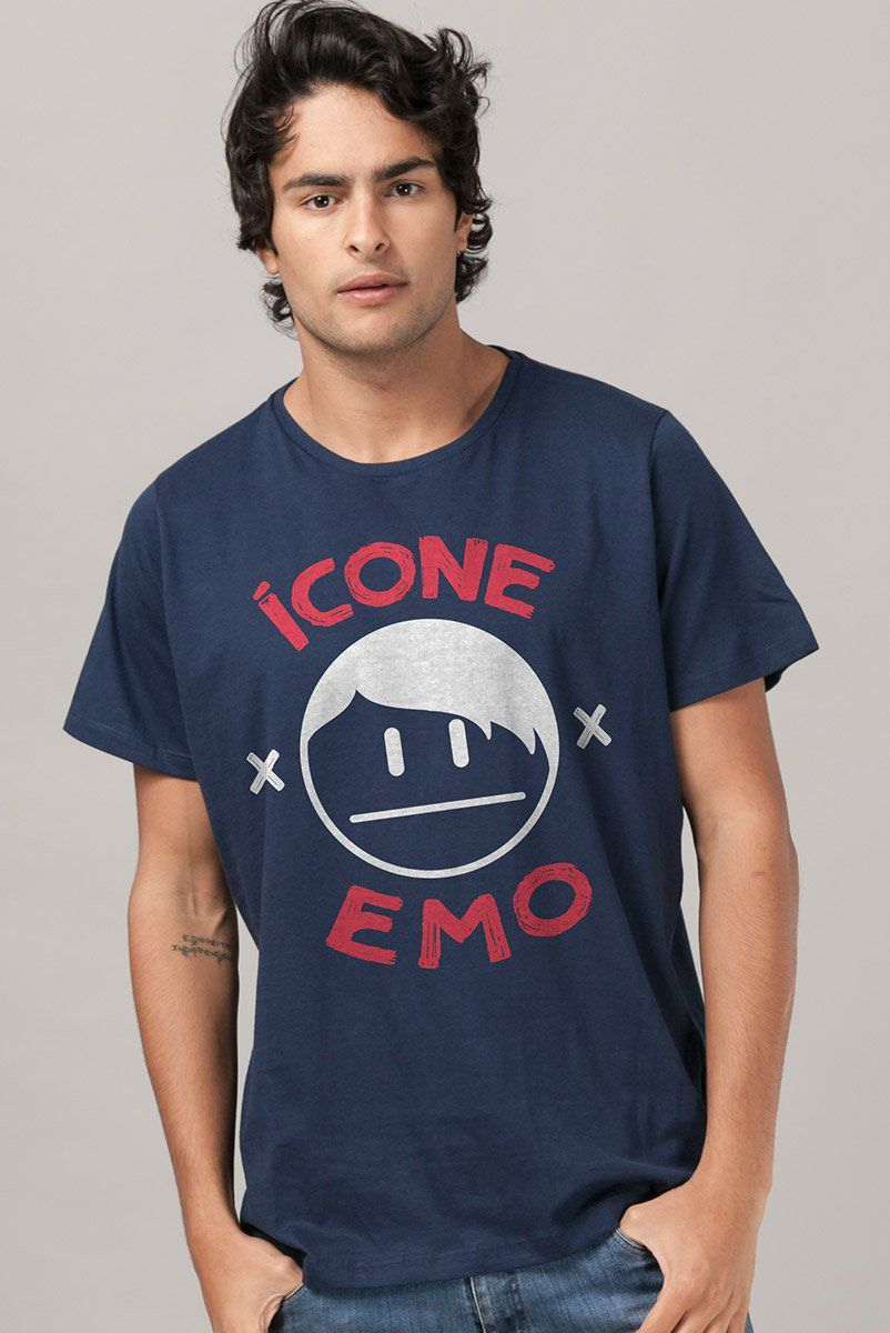 Camiseta Masculina Fresno Ícone Emo