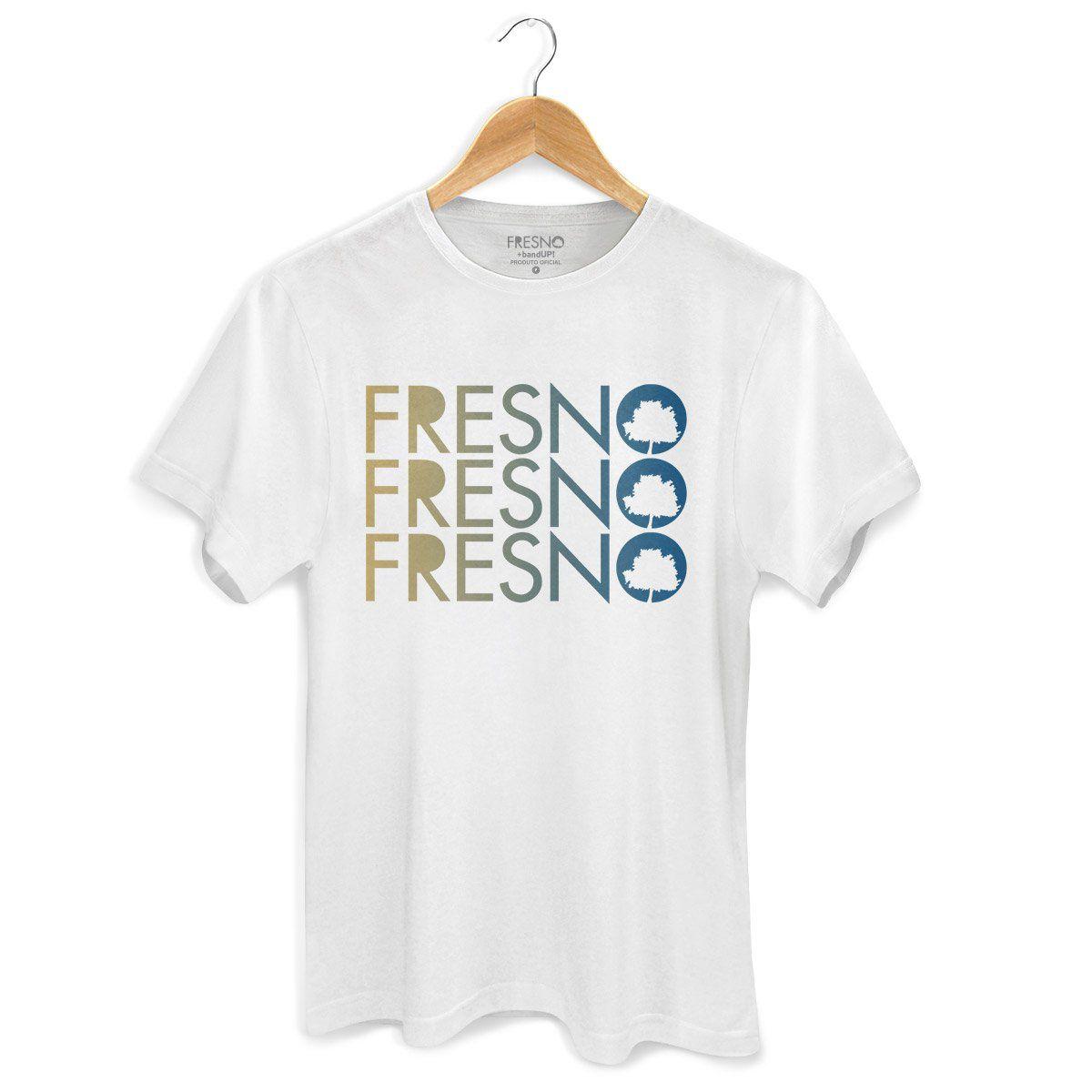 Camiseta Masculina Fresno - Logo