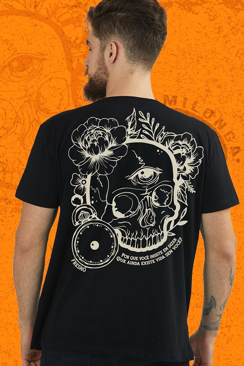 Camiseta Masculina Fresno Milonga Caveira