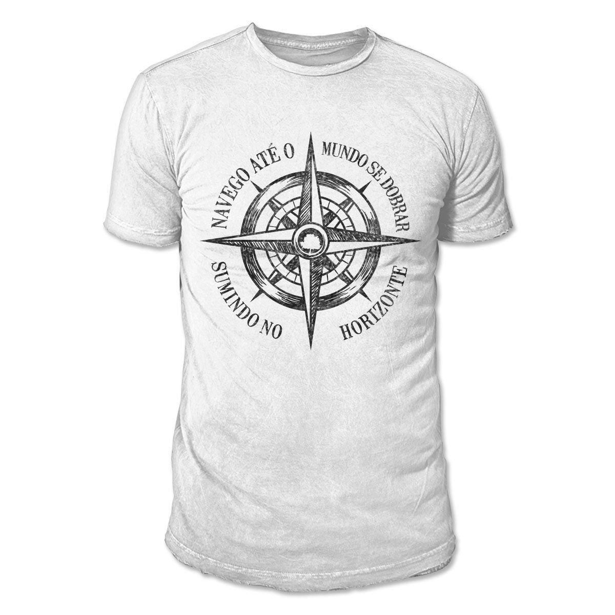 Camiseta Masculina Fresno - Navego Até o Mundo Se Dobrar 3