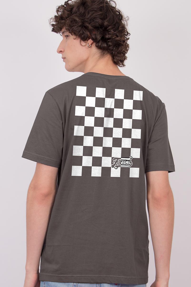 Camiseta Masculina Fresno Quadriculado
