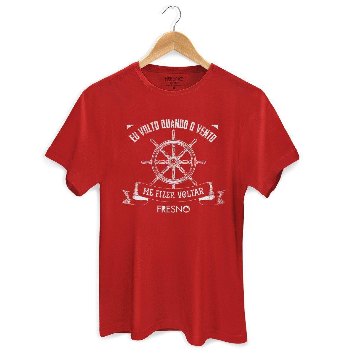 Camiseta Masculina Fresno - Quando o Vento Me Fizer Voltar