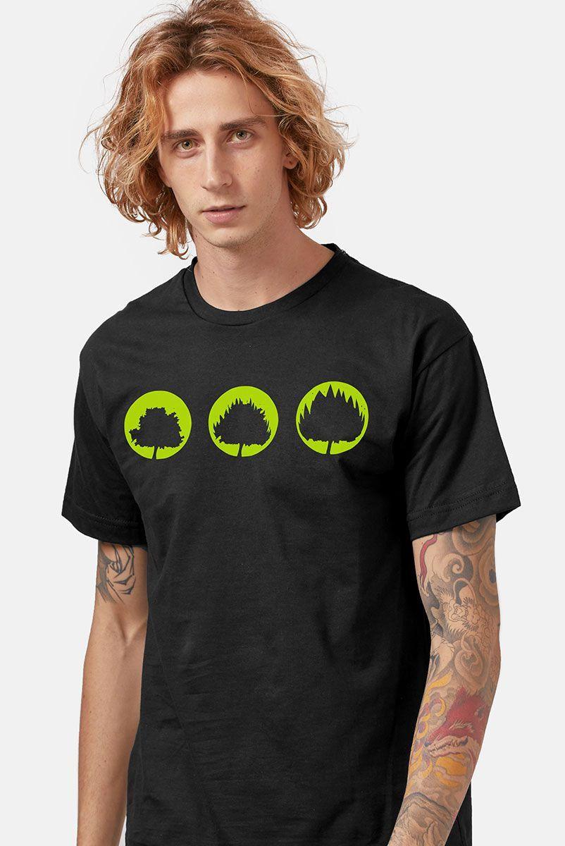 Camiseta Masculina Fresno Sua Alegria Foi Cancelada Logo Árvores