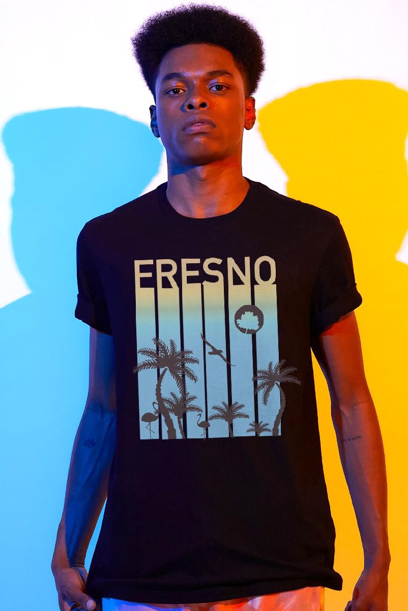 Camiseta Masculina Fresno Verão Palmeiras