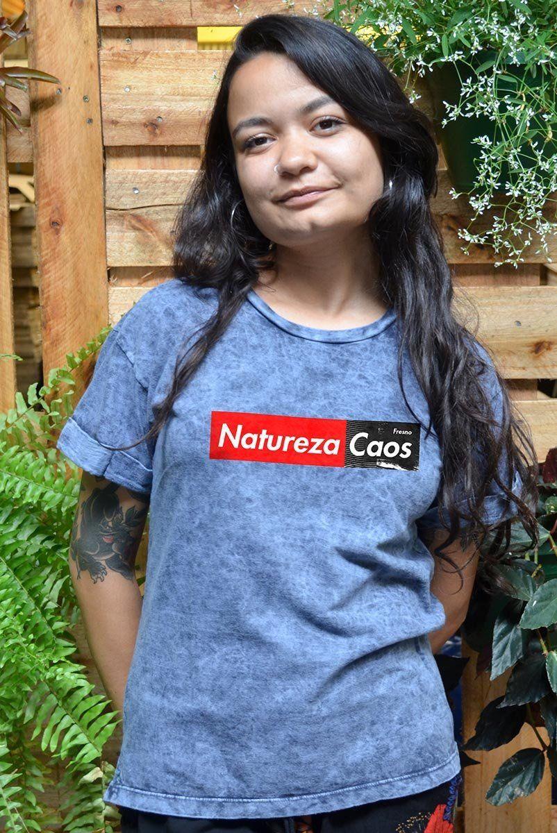 Camiseta Premium Feminina Fresno Caos